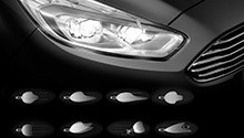 Ford Galaxy Scheinwerfer Licht Dynamic LED