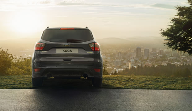 Ford Kuga gold Front