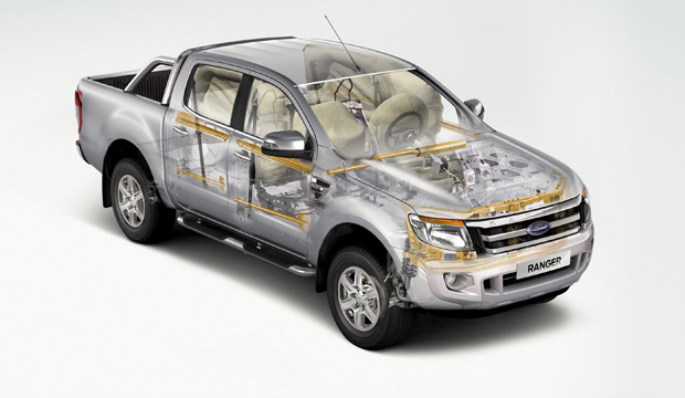 Ford Ranger IPS Protection Sicherheit Airbag Karosserie